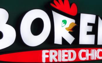 Borenos Fried Chicken - Logo