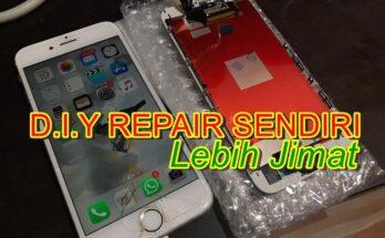 Membaiki Telefon Bimbit - Telefon Iphone 6s Rosak dan Akan Dibaiki