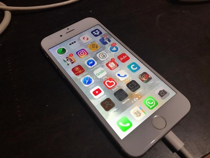 Membaiki Telefon Bimbit - Telefon iPhone 6s Yang Sudah Dibaiki