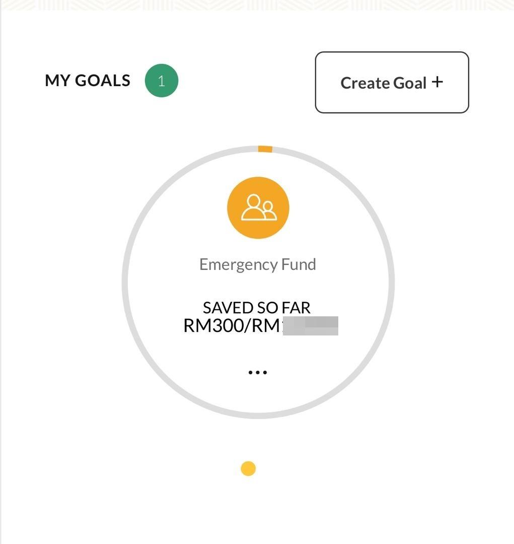 Goal Saving Maybank ESI PYMT DEBIT