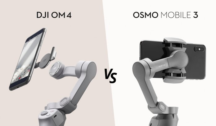 DJI OM4 Osmo Mobile 4 vs Osmo Mobile 3